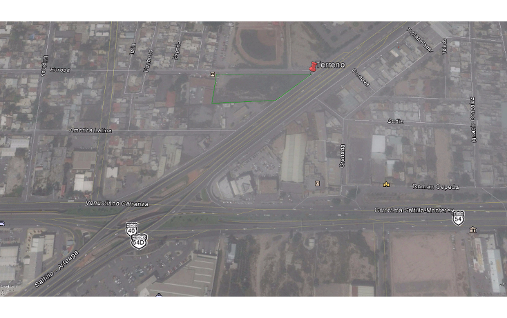 Foto de terreno comercial en venta en  , virreyes residencial, saltillo, coahuila de zaragoza, 1697024 No. 01