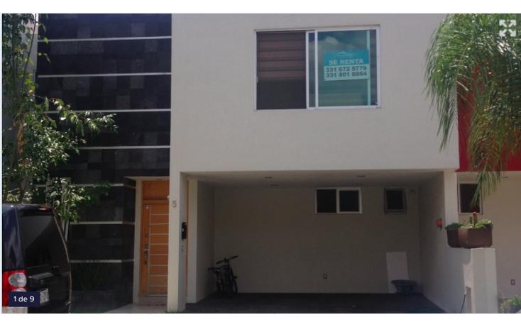 Foto de casa en renta en  , virreyes residencial, zapopan, jalisco, 853665 No. 01