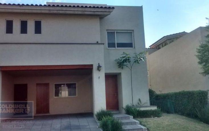 Foto de casa en condominio en renta en vista alamos 1405, la vista contry club, san andrés cholula, puebla, 1855874 no 01