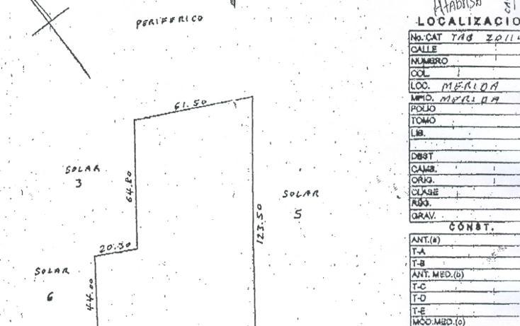 Foto de terreno comercial en venta en  , vista alegre norte, mérida, yucatán, 1261281 No. 01
