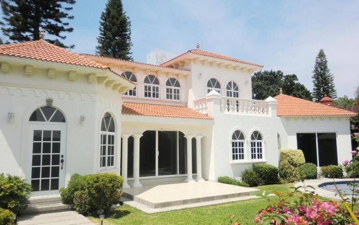 Foto de casa en renta en  , vista hermosa, cuernavaca, morelos, 396104 No. 01