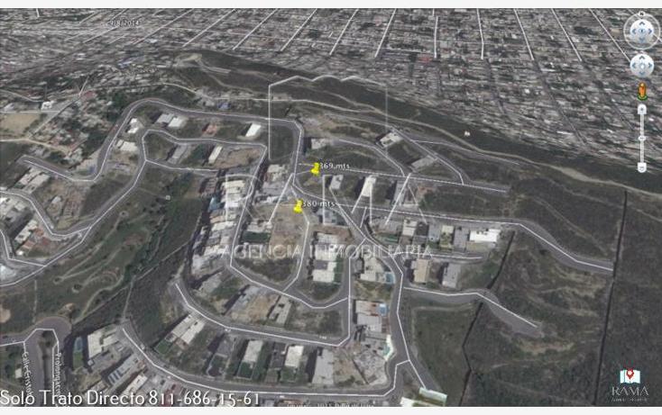 Foto de terreno habitacional en venta en  , vista real, san pedro garza garcía, nuevo león, 2028936 No. 01