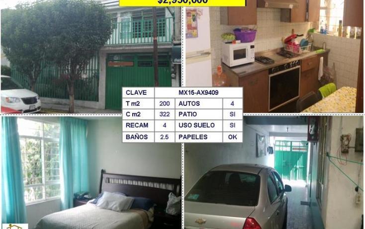 Foto de casa en venta en  , viveros de la loma, tlalnepantla de baz, méxico, 954637 No. 01