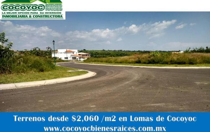 Foto de terreno habitacional en venta en volcanes 0, lomas de cocoyoc, atlatlahucan, morelos, 1205867 No. 02