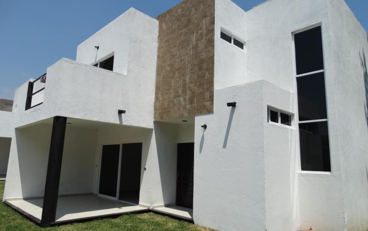 Foto de casa en venta en  , volcanes de cuautla, cuautla, morelos, 1708622 No. 01