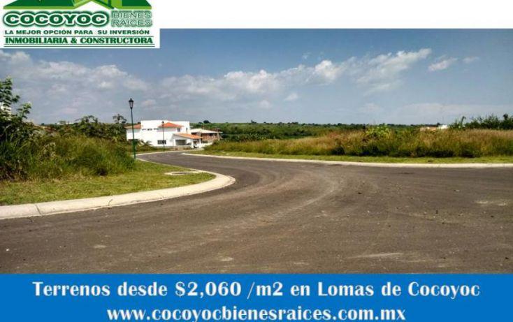 Foto de terreno habitacional en venta en volcanes, lomas de cocoyoc, atlatlahucan, morelos, 1205867 no 02
