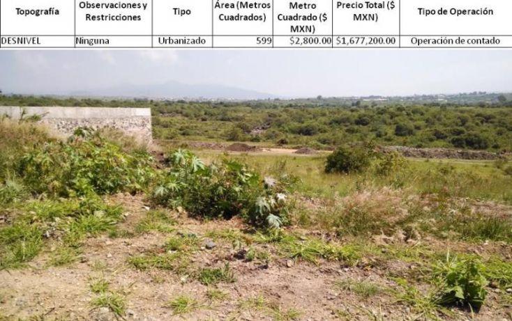 Foto de terreno habitacional en venta en volcanes, lomas de cocoyoc, atlatlahucan, morelos, 1402789 no 01