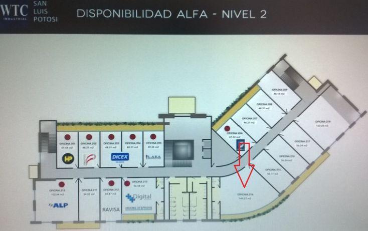 Foto de oficina en renta en wtc industrial eje 140, zona industrial, san luis potosí, san luis potosí, 1006511 no 01