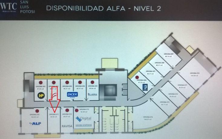 Foto de oficina en renta en wtc industrial eje 140, zona industrial, san luis potosí, san luis potosí, 1006515 no 01