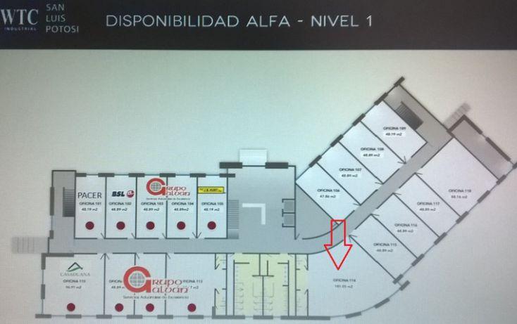 Foto de oficina en renta en wtc industrial eje 140, zona industrial, san luis potosí, san luis potosí, 1006527 no 01