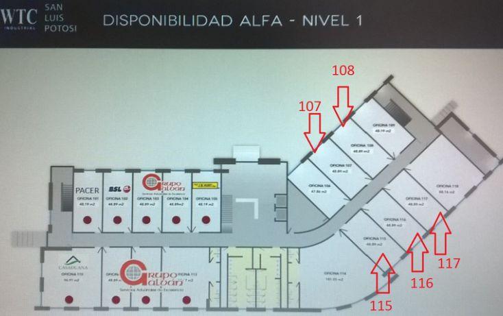 Foto de oficina en renta en wtc industrial eje 140, zona industrial, san luis potosí, san luis potosí, 1006531 no 01