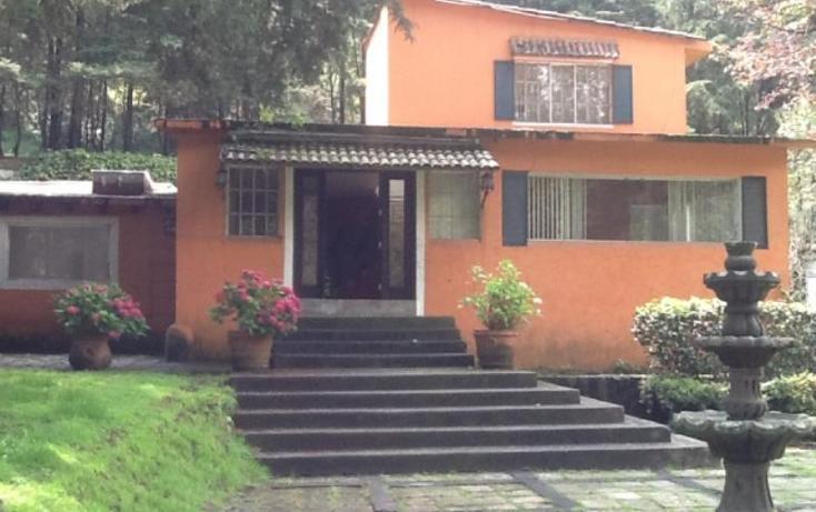 Foto de casa en venta en avenida monte de las cruces x, san lorenzo acopilco, cuajimalpa de morelos, distrito federal, 1756918 No. 01