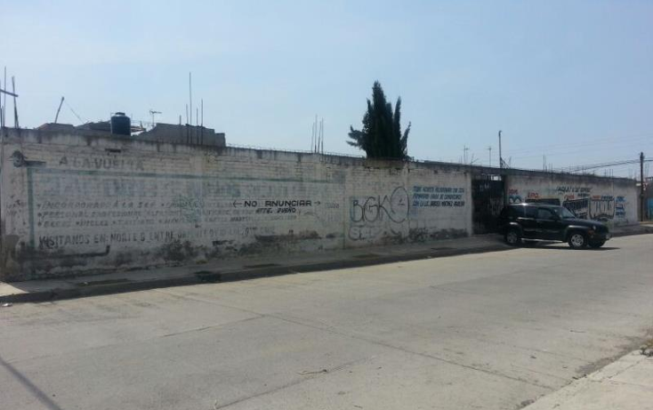 Foto de terreno habitacional en venta en  x, santa cruz, valle de chalco solidaridad, m?xico, 675325 No. 01
