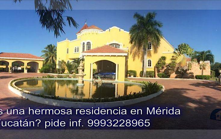Foto de casa en venta en, xcanatún, mérida, yucatán, 1094715 no 01