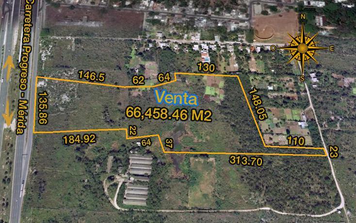 Foto de terreno comercial en venta en  , xcanatún, mérida, yucatán, 1134883 No. 01