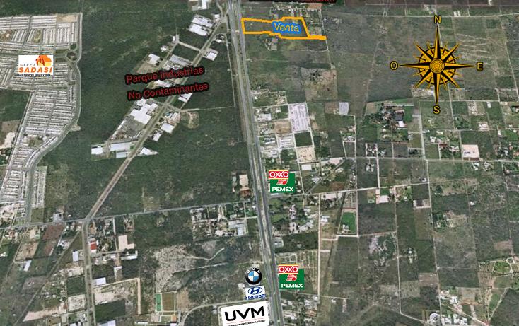 Foto de terreno comercial en venta en  , xcanatún, mérida, yucatán, 1134883 No. 02