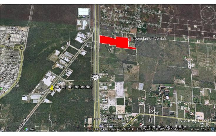 Foto de terreno comercial en venta en  , xcanatún, mérida, yucatán, 1134883 No. 03