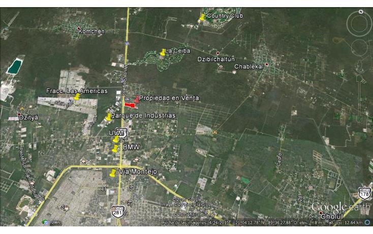 Foto de terreno comercial en venta en  , xcanatún, mérida, yucatán, 1134883 No. 04