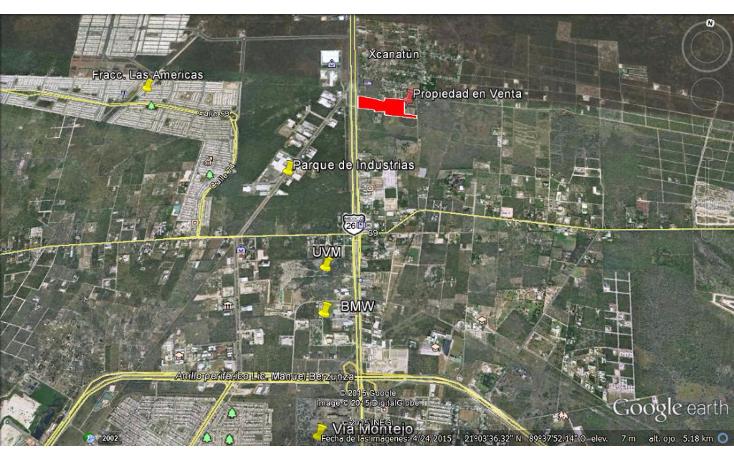 Foto de terreno comercial en venta en  , xcanatún, mérida, yucatán, 1134883 No. 05