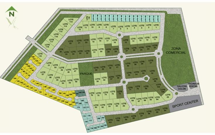Foto de terreno habitacional en venta en  , xcanat?n, m?rida, yucat?n, 1188087 No. 06