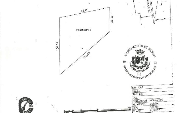 Foto de terreno habitacional en venta en, xcanatún, mérida, yucatán, 1291699 no 03