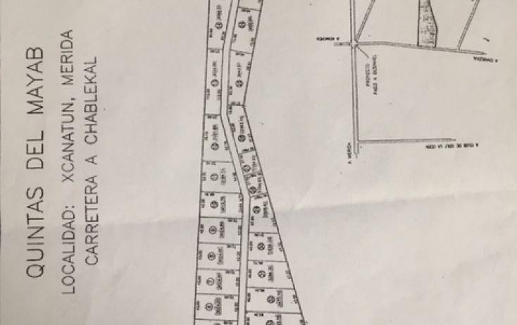 Foto de terreno habitacional en venta en, xcanatún, mérida, yucatán, 1411495 no 02