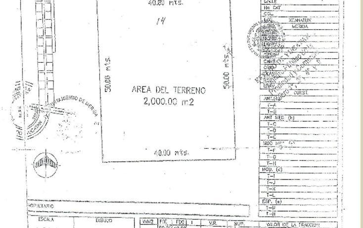 Foto de terreno habitacional en venta en  , xcanatún, mérida, yucatán, 1496019 No. 02