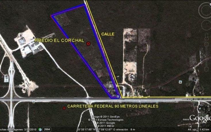 Foto de terreno comercial en venta en, xcaret, solidaridad, quintana roo, 1693738 no 03