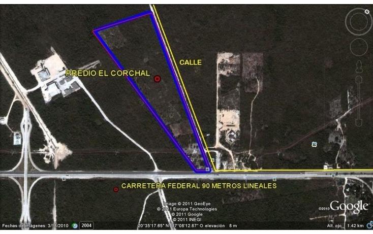 Foto de terreno comercial en venta en  , xcaret, solidaridad, quintana roo, 1693738 No. 03