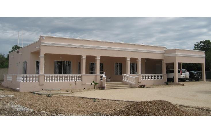 Foto de casa en venta en  , xcuny?, m?rida, yucat?n, 1053431 No. 01