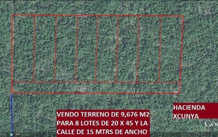 Foto de terreno habitacional en venta en  , xcunyá, mérida, yucatán, 1175951 No. 02