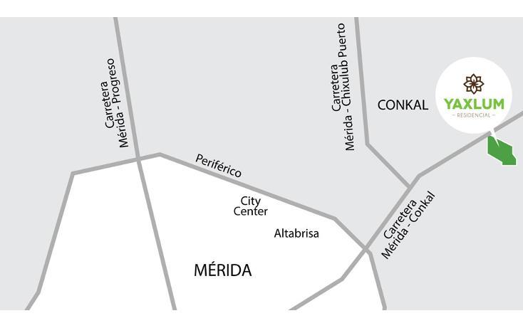 Foto de terreno habitacional en venta en  , xcuyun, conkal, yucatán, 1254713 No. 03