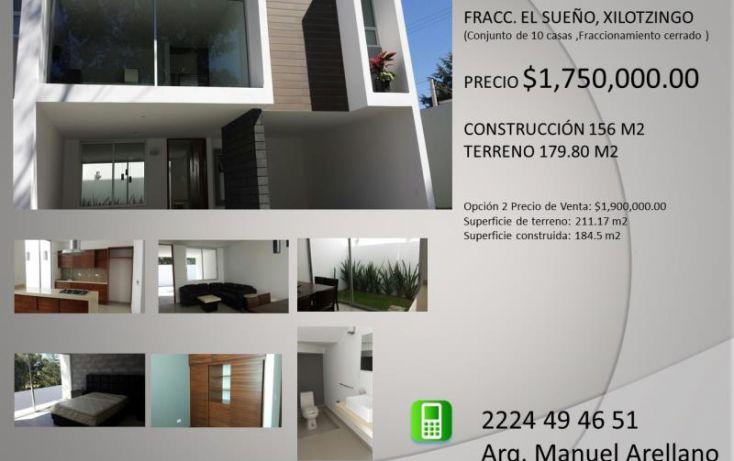 Foto de casa en venta en xilotzingo, geovillas los encinos, puebla, puebla, 1649986 no 02