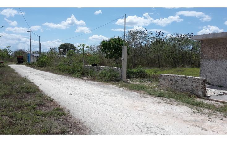 Foto de terreno habitacional en venta en  , xmatkuil, mérida, yucatán, 825025 No. 02