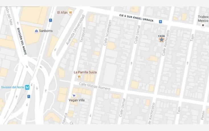 Foto de casa en renta en xochicalco 00, narvarte poniente, benito juárez, distrito federal, 0 No. 01