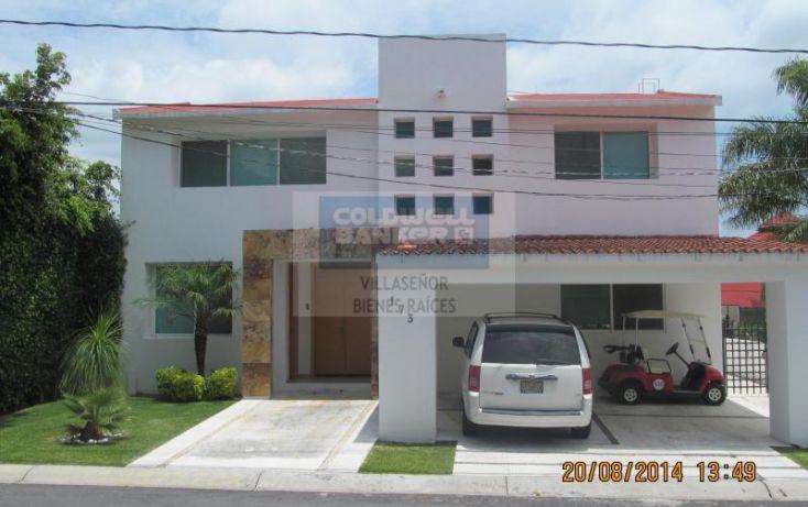 Foto de casa en venta en xochicalco, lomas de cocoyoc, atlatlahucan, morelos, 604752 no 01