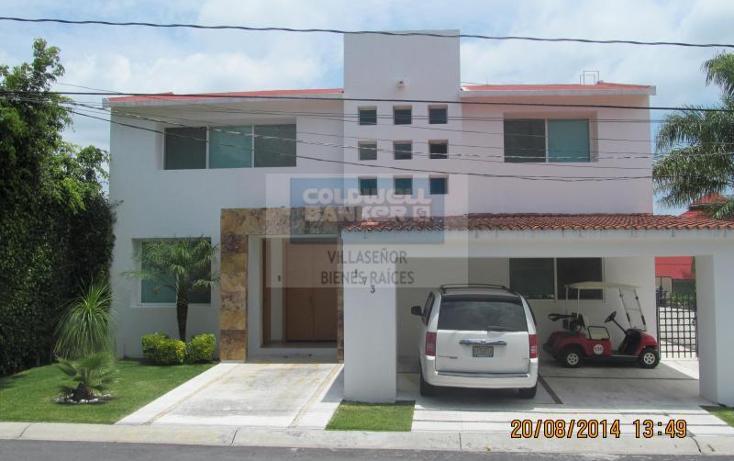 Foto de casa en venta en  , lomas de cocoyoc, atlatlahucan, morelos, 604752 No. 01