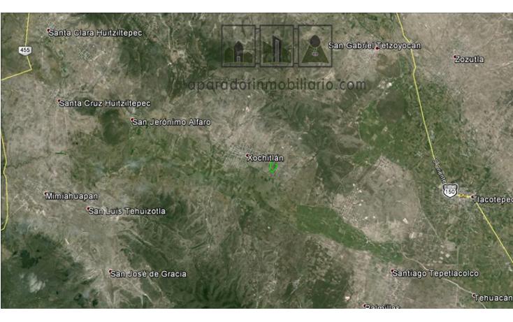 Foto de terreno habitacional en venta en  , xochitlan, xochitlán todos santos, puebla, 537206 No. 04