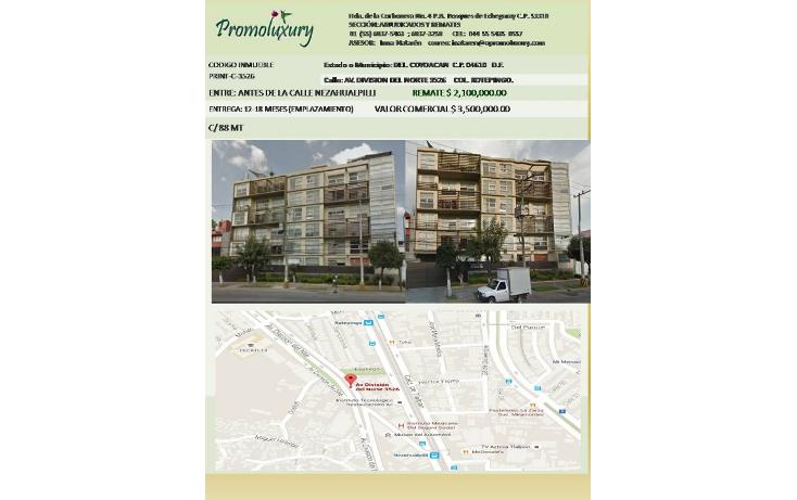 Foto de casa en venta en  , xotepingo, coyoacán, distrito federal, 1082009 No. 01