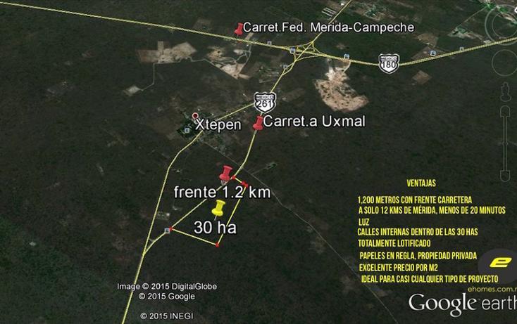 Foto de terreno habitacional en venta en kilometro 23 carretera uxmal-merida , xtepen, umán, yucatán, 2720157 No. 03