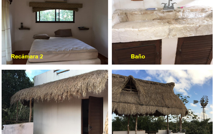 Foto de terreno habitacional en venta en, xtut, temozón, yucatán, 1626445 no 08