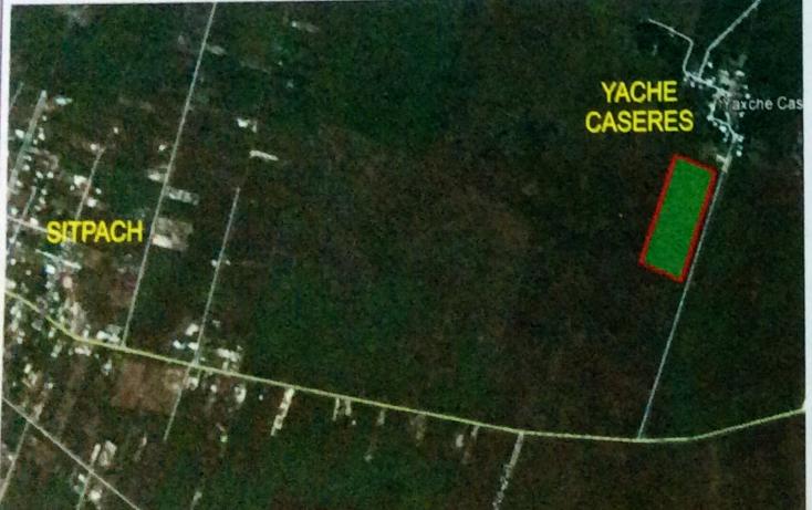 Foto de terreno habitacional en venta en  , yaxkukul, yaxkukul, yucatán, 1144521 No. 01