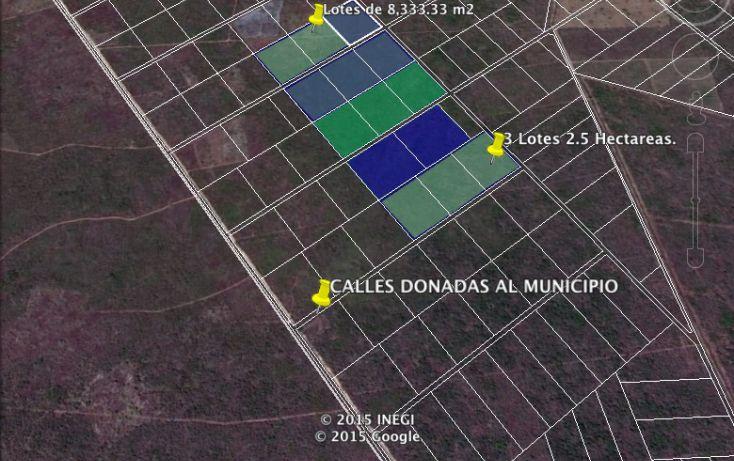 Foto de terreno habitacional en venta en, yaxkukul, yaxkukul, yucatán, 1299245 no 01