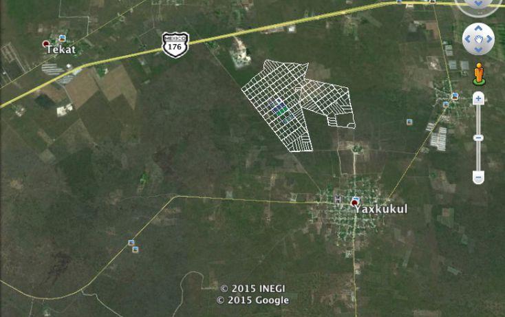 Foto de terreno habitacional en venta en, yaxkukul, yaxkukul, yucatán, 1299245 no 03