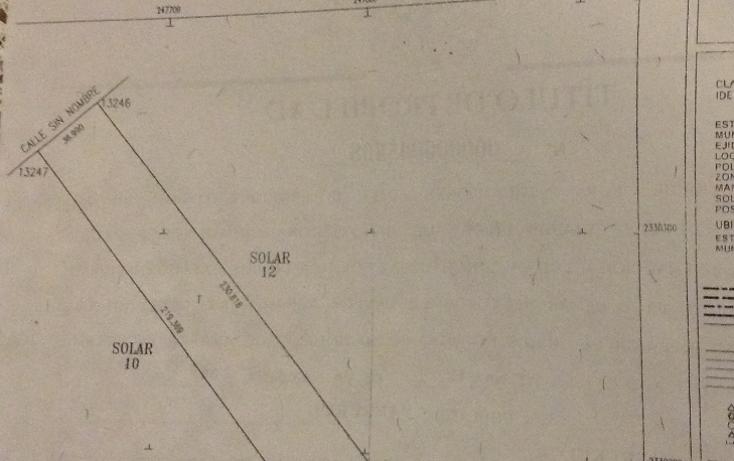 Foto de terreno habitacional en venta en  , yaxkukul, yaxkukul, yucatán, 1374453 No. 01