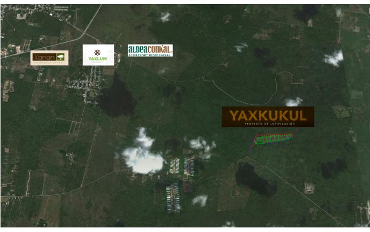 Foto de terreno habitacional en venta en  , yaxkukul, yaxkukul, yucat?n, 1418353 No. 03
