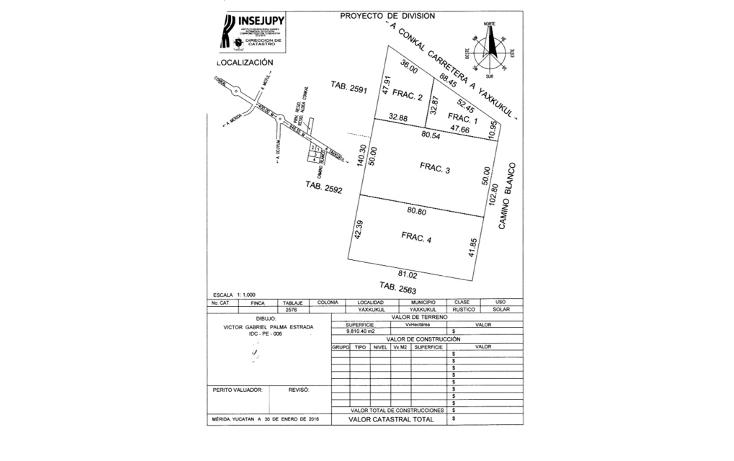 Foto de terreno habitacional en venta en  , yaxkukul, yaxkukul, yucat?n, 2042534 No. 02