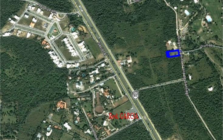 Foto de terreno habitacional en venta en  , yerbaniz, santiago, nuevo león, 1403253 No. 05