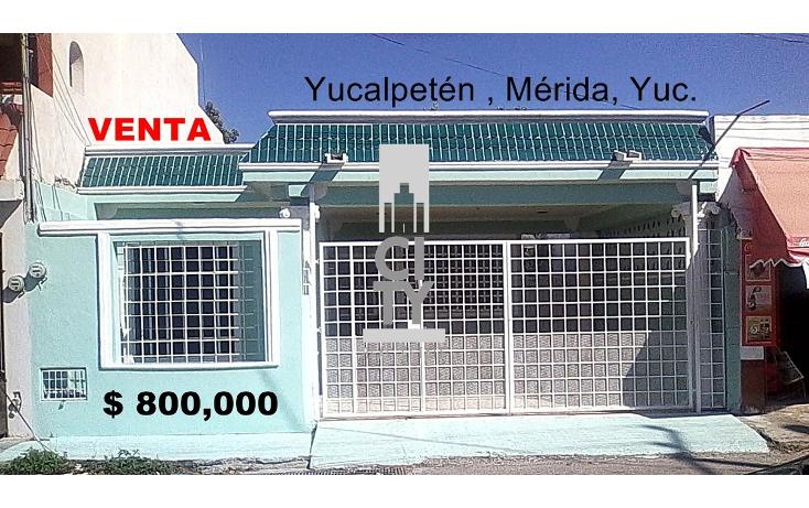 Foto de casa en venta en  , yucalpeten, mérida, yucatán, 1969771 No. 01