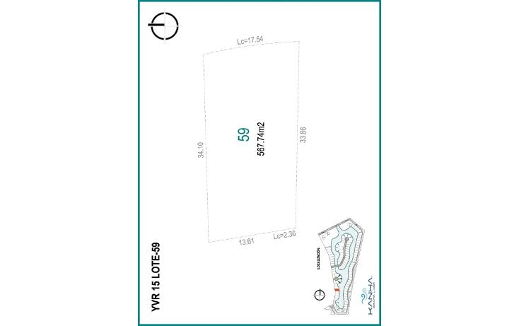 Foto de terreno habitacional en venta en  , yucatan, m?rida, yucat?n, 1062877 No. 15